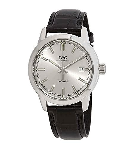 IWC Ingenieur automatico quadrante argento Mens Watch IW357001