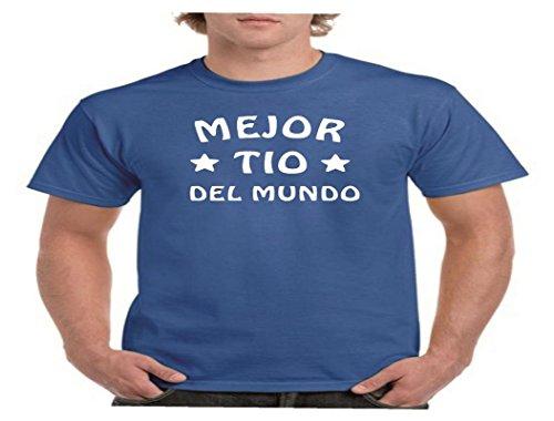 Camisetas divertidas Parent Mejor tio del Mundo - para Hombre Camiseta