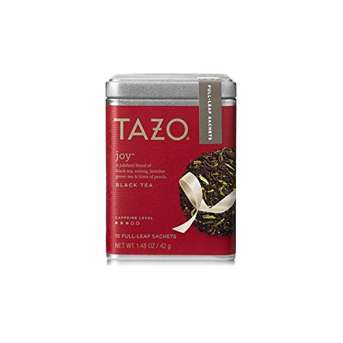 Tazo Joy, Black Green and Oolong Full Leaf Tea (1 x 16 ct. Tin)