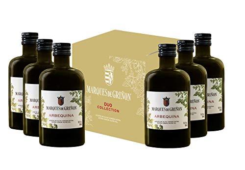 Marqués de Griñón Aceite De Oliva Virgen Extra Arbequina Pack de 6 botellas x 500 ml