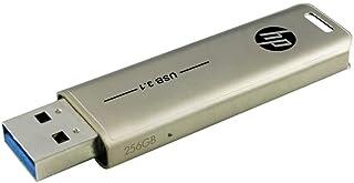 【Amazon.co.jp 限定】HP USBメモリ 256GB USB 3.1 スライド式 金属製 HPFD796L-256 GJP