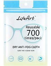 1 pezzo di salviettine anti-appannamento, panni per la pulizia degli occhiali, salviette per la pulizia degli occhiali, compresse, schermi, salviette per lenti per lenti della fotocamera