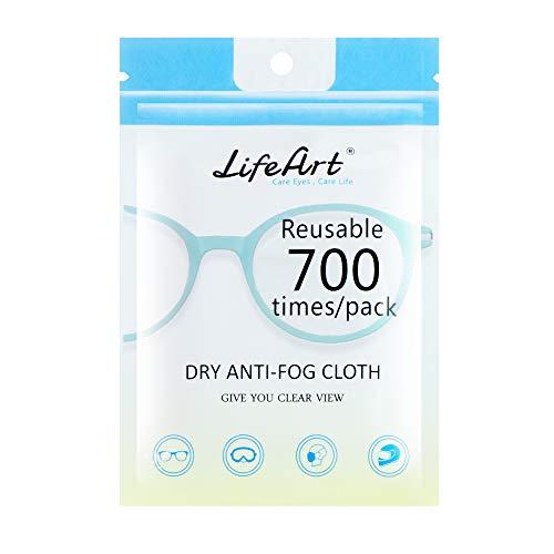 LifeArt - Toallitas empañado, paños de Limpieza para Gafas, cámaras, iPad, iPhone, tabletas, teléfonos celulares, Pantallas LCD