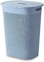 HOUZE LN-5192 Mozaic Tall Laundry Basket (Blue)
