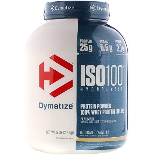 ISO 100 Hydrolyzed 2.3kg Dymatize Nutrition - Gourmet Vanilla