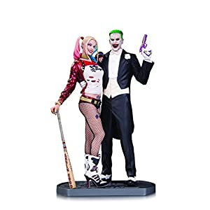 dc comics AUG160374 Suicide Squad Movie Joker y Harley Quinn - Estatua 3