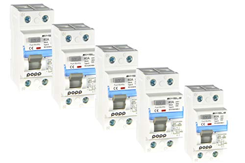 POPP® Electric Interruptor diferencial clase A industrial TIPO A 40A 30mA 1P+N (5)