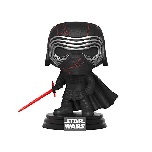 Funko- Pop Star Wars The Rise of Skywalker-Kylo REN Disney Figura Coleccionable, Multicolor, Estándar (39887)
