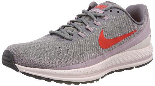 Nike Women's WMNS Air Zoom Vomero 13 Competition Running Shoes, Multicolour (Gunsmoke/Habanero Re 004), 2.5 UK