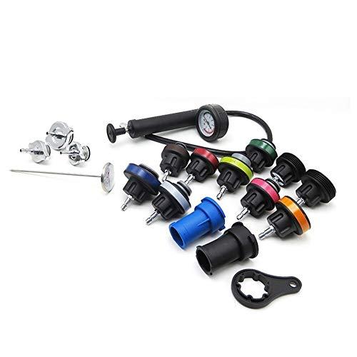 18pcs Radiator Pressure Compression Tester Kit koelsysteem auto repareren Lekzoeker Tool Auto accessoires