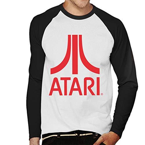 Atari Classic Red Logo Men's Baseball Long Sleeved T-Shirt
