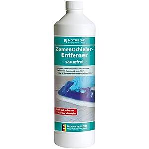 Hortega h2601900011litro Ultra concentrado libre de ácidos eliminador de velo de cemento–Color blanco