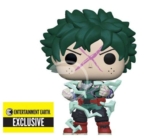 Funko The My Hero Academia Deku Cowl Glow-in-The-Dark Pop! Vinyl Standard