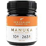 New Zealand Honey Co. Miel de Manuka MGO 263+ / UMF 10+ | Nueva Zelanda Miel 100% Pura y Saludable | 250g