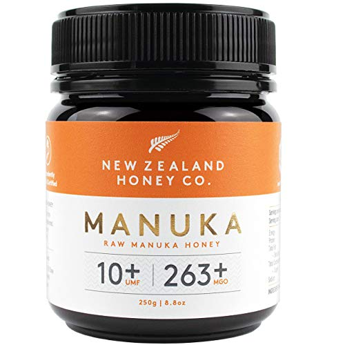 New Zealand Honey Co. Miel de Manuka MGO 263+ / UMF 10+ | Nueva Zelanda Miel 100% Pura y Saludable | 250g