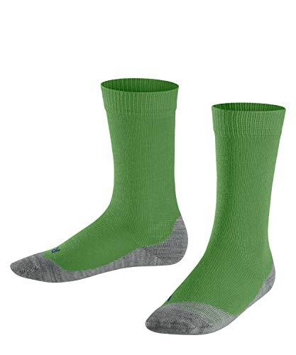 FALKE Kinder Socken Active Sunny Days - Baumwollmischung, 1 Paar, grün (fairway 7480), 31-34