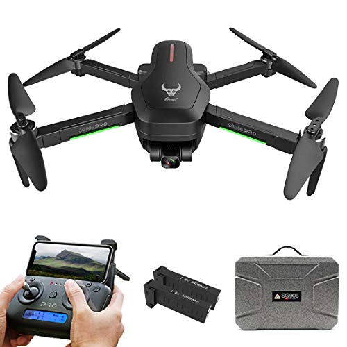 SG906 PRO 2 5GWIFI 4K HD Aerial Photography Drone, Three Axis Anti-shake Gimbal GPS Follow Finger Gestures Drone with Suitcase