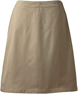 khaki uniform skort
