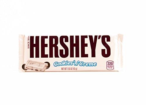 Hershey's biscotti e crema di cioccolato chocolate bar HERSHEY'S COOKIES N Cream Cioccolato Americano