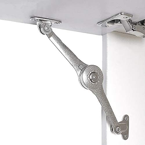 VOCOMO Toy Box Hinges Safety Lid Support Soft Drop Lid Support Soft Close Lid Hinge for Cabinets product image