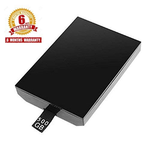 TCOS TECH Xbox 360 Slim / Xbox 360 E 500GB HDD Hard Disk 500 GB Hard Drive