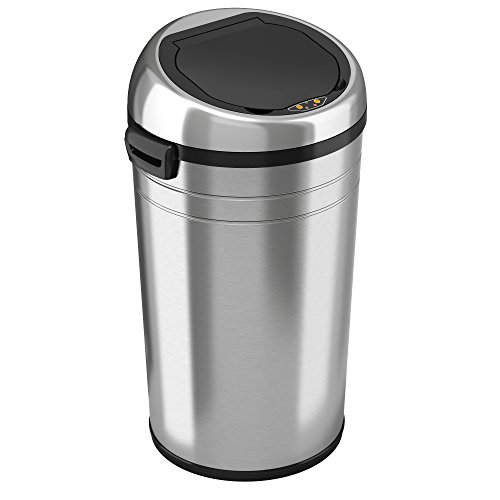 iTouchless Commercial Size Automatic Touchless Sensor Trash Can