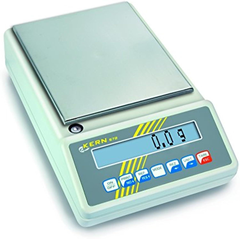Kern & Sohn  wlpb420 572 Serie Präzisions-Waage, ohne Zulassung, 106 mm Durchmesser Plattform, 420 g Bereich-Wägezelle Skala, 0.001 g, 0.002 g Reproduzierbarkeit B0052WGL18 | Großer Räumungsverkauf