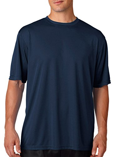 A4 Adult Cooling Performance T-Shirt, NVY, XXXX-Large