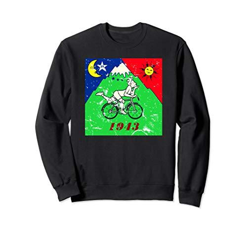 Bicycle Day 1943 LSD Acid Hofmann Trip Gift Sweatshirt