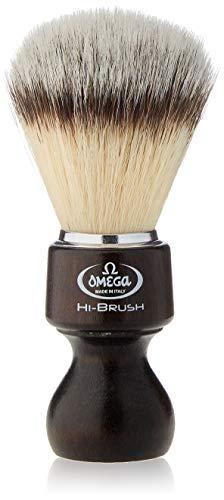 """Omega 46126 - Pennello da barba in fibra""""Hi-Brush"""""""