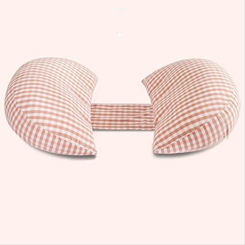 NOBRAND Almohada Embarazada multifunción U-Almohada Almohada para Dormir Almohada posicional Cintura Prop Vientre (Modelos de algodón Su)células pequeñas en Polvo