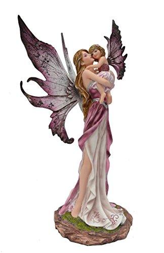 Statuette FEE ET Petite Fille (HT26 CM), Figurine FEE, Fairy