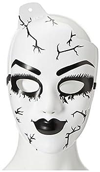 Leg Avenue Women s Doll Mask White One Size