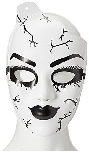 Leg Avenue Masque Poupée de Porcelaine Blanc Taille Unique