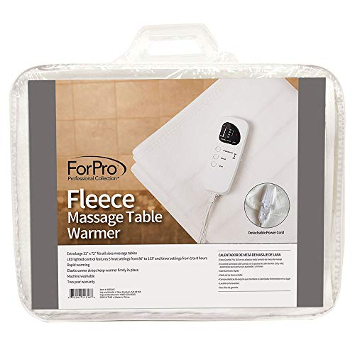 ForPro Professional Collection Fleece Massage Table Warmer