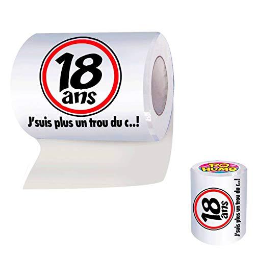 Rouleau de papier WC 18 Ans - Taille Unique