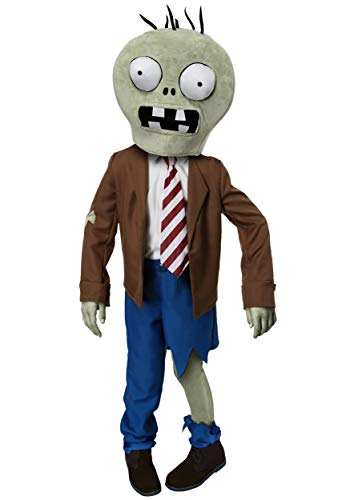 Kids Plants vs Zombies Costume Boys Video Game Character Costumes Medium