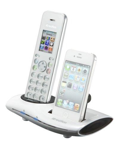 iCreative i650 - Teléfono fijo inalámbrico DECT con Bluetooth [Importado de Francia]