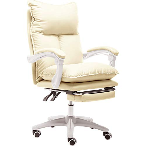 Desk Chairs-T Silla Gaming Escritorio Oficina Cuero Ordenador Gamer Silla Asiento Engrosado,Ergonomica Silla Gaming Giratoria,E-Sports sillas de Juego para Jugador