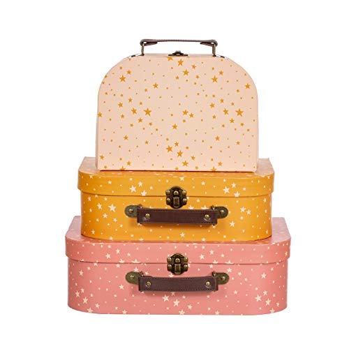 Sass & Belle Little Stars Suitcases - Set of 3