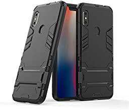 Cover for Xiaomi Mix 3 Iron Man Impact Strong Kickstand Phone Case Cover - Black