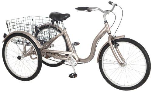 7 Best 3 Wheel Bikes For Seniors (Guide & Review) - Schwinn Meridian Adult Trike