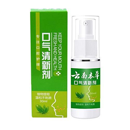 N/P Breath Freshener Mint Spray Oral Odor Treatment 30ml Halitosis Treatment Spray Refresher Oral Care Fresh Breath Spray