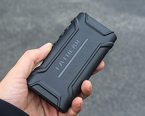 NW-ZX300A ZX300 Case, Fatbear Shockproof Heavy Duty Cover Case for Sony Walkman NW-ZX300A ZX300 (Black)