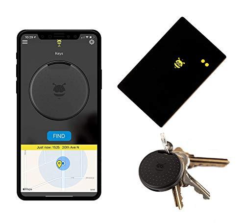Pebblebee Finder 2.0 - BlackCard Wallet Finder & Key Finder -Rechargeable & 500 Foot Range