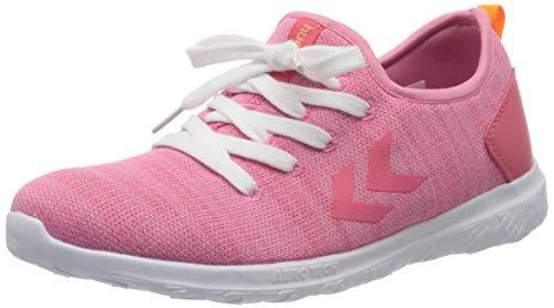 Hummel Mädchen Actus Easyfit Jr Sneaker Niedrig, Pink (Fuchsia Pink 3445), 35 EU