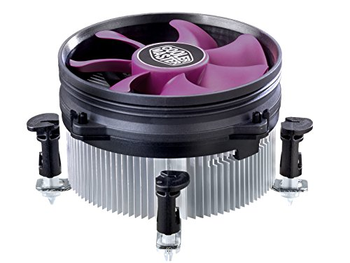 Cooler Master XDream i117 - Ventiladores de CPU, Cross Shape Heat Dissipating Design, 1800RPM +/-10%, Ventilador de 95mm, RR-X117-18FP-R1