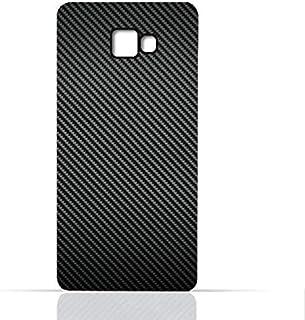 Samsung Galaxy C7 TPU Silicone Case with Carbon Fiber Design