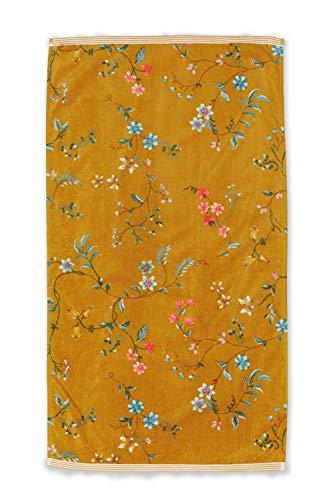 Pip Les Fleurs - Toalla (50 x 100 cm), color amarillo