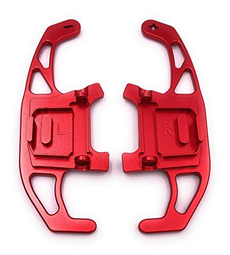 H-Customs DSG Schaltwippen Replacement Shift Paddle Golf 7 nur GTI R GTD Aluminium Rot